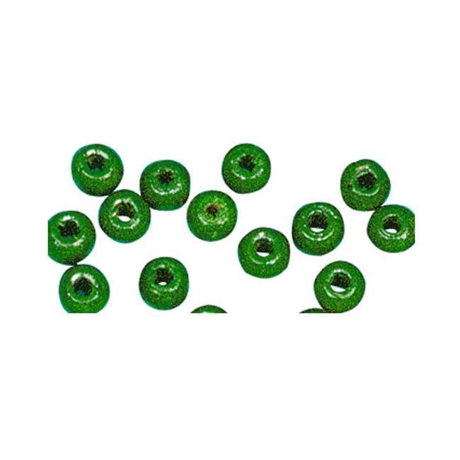 Armbandjes rijgen 115 gras groene kralen Groen