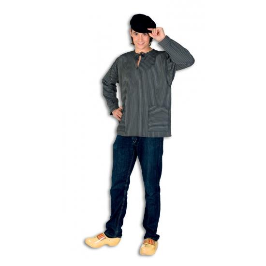 Authentieke boeren kiel verkleedkleding 52 (L) Grijs