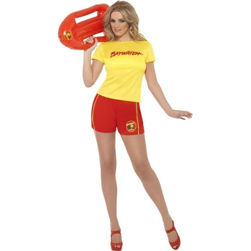 Baywatch verkleedkleding voor dames 40-42 (M) Multi