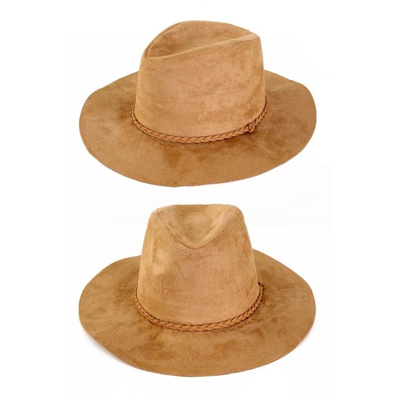 Beige verkleed cowboy hoed beige voor volwassenen Beige