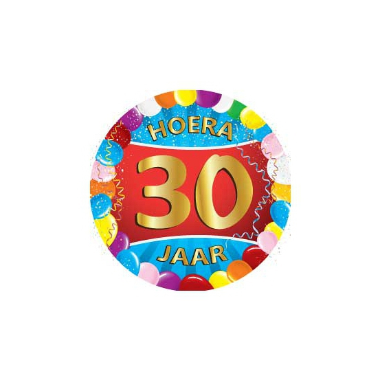 Bierviltjes 30 jaar feestartikelen Multi
