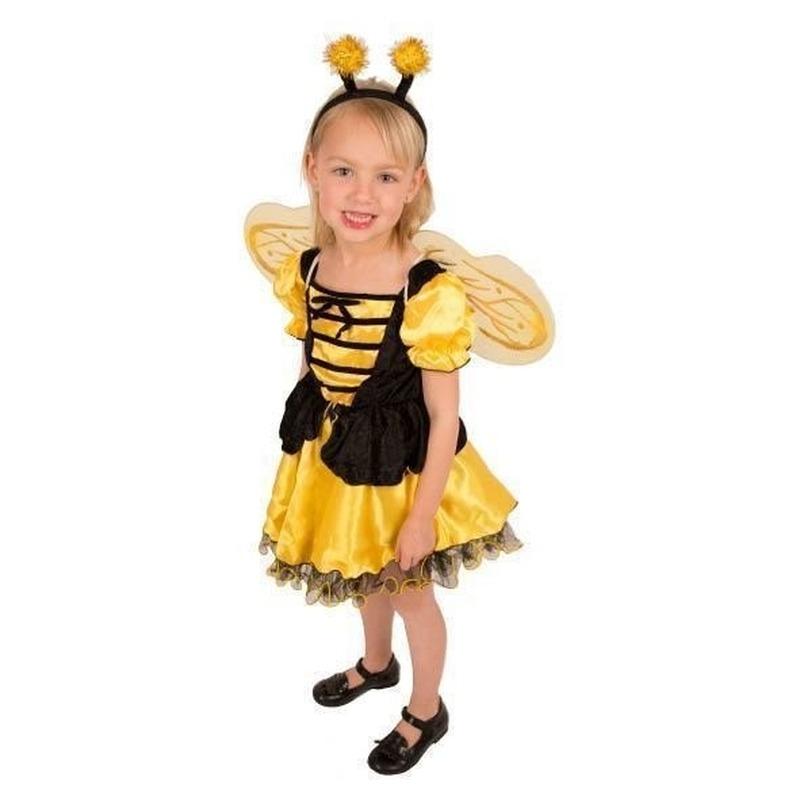 Bijen kostuums meisjes 128 Multi