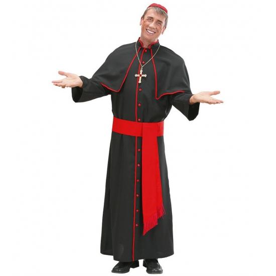 Bisschoppen kostuum voor mannen XL Zwart
