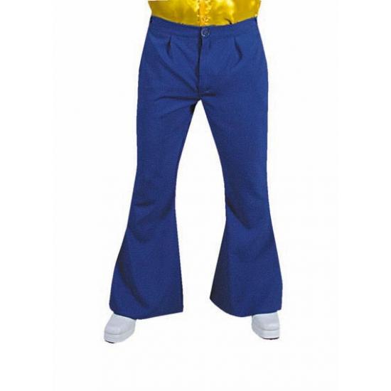 Blauwe hippie heren broeken 52-54 (M) Blauw