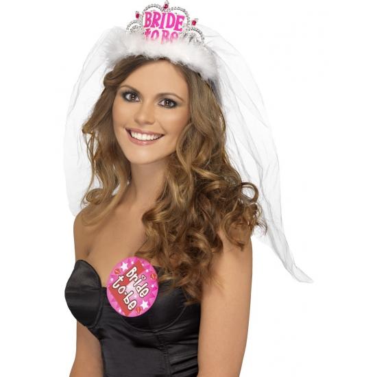 Bride to Be tiara vrijgezellenfeest Multi