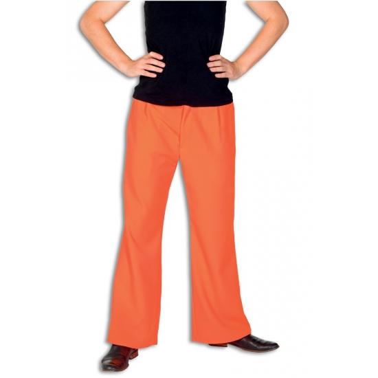 Broek in oranje kleur 50 (S) Oranje