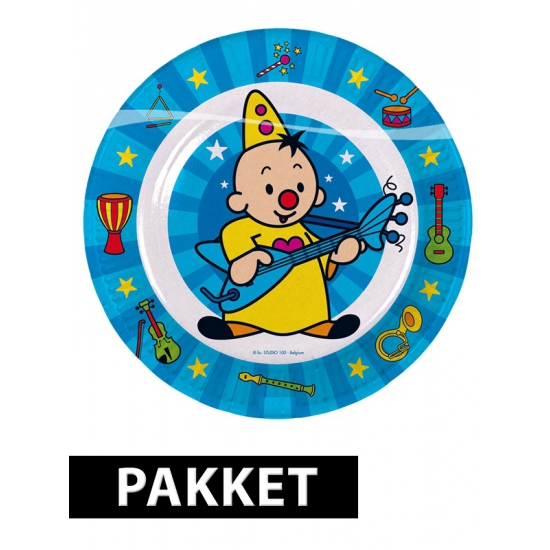 Bumba versiering pakket voor kinderfeestje Multi