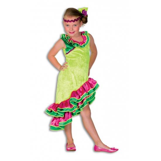 Caribisch kinder jurkje 152 Multi