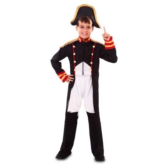 Carnavalskleding Franse Revolutie Napoleon outfit voor jongens 120-130 (7-9 jaar) Multi
