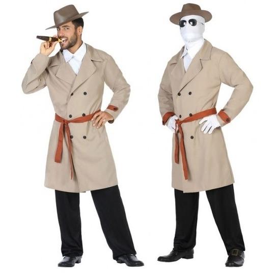 Carnavalskleding invisible man voor heren M/L Multi