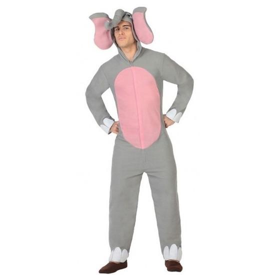 Carnavalskleding olifant voor volwassenen M/L Multi