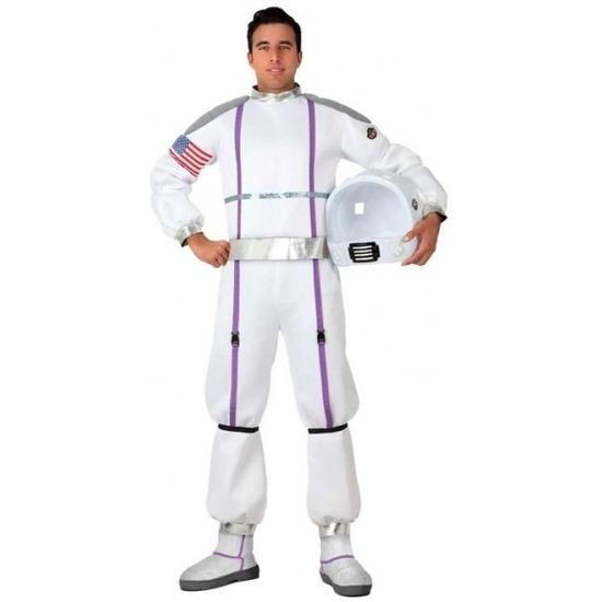 Carnavalskleding ruimte astronaut voor heren M/L Multi