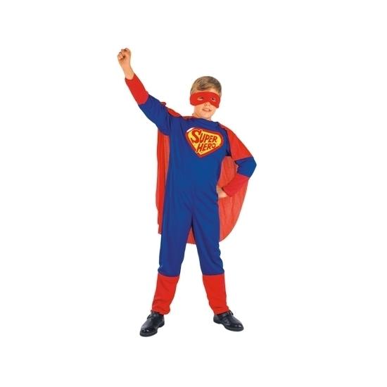 Cartoon superheld outfit voor kinderen 120-130 (7-9 jaar) Multi
