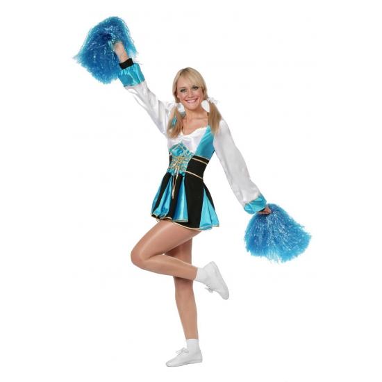 Cheerleader jurkjes aqua vrouwen 42 (XL)