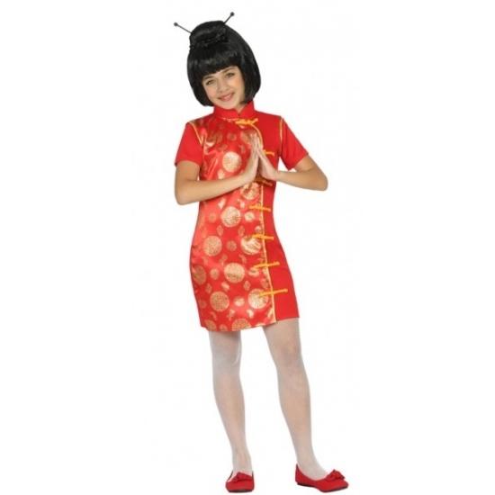 Chinees verkleedkostuumvoor meisjes 140 (10-12 jaar) Multi