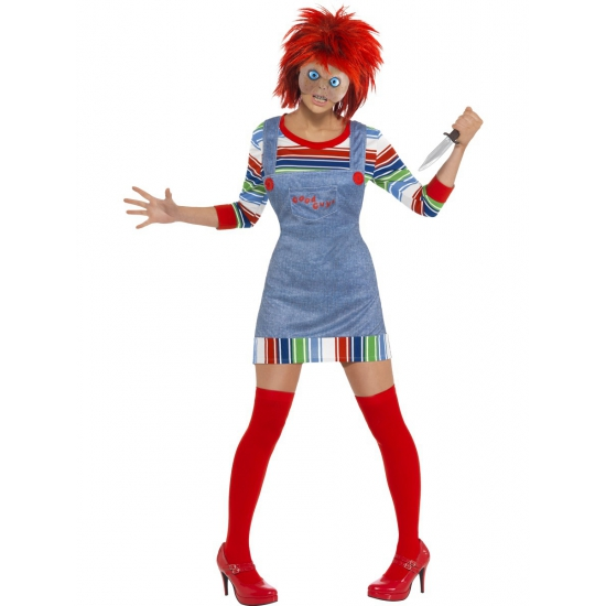 Chucky childsplay dames kleding 44-46 (L) Multi