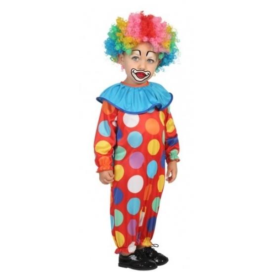 Clown pakje voor baby en peuters 12-24 maanden (80-92) Multi