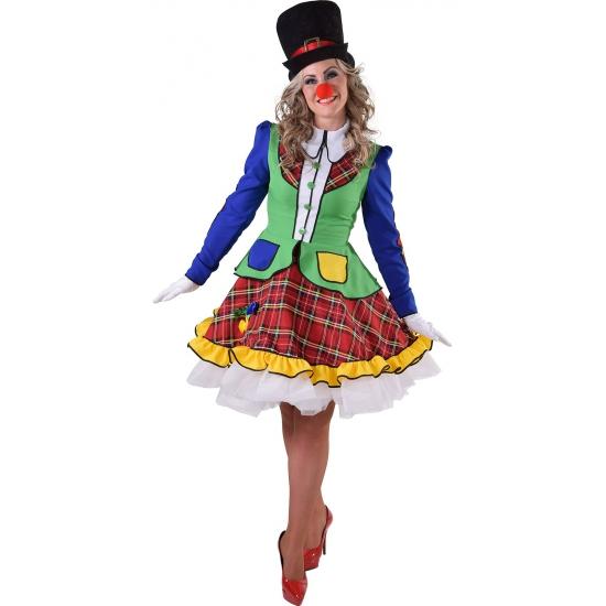 Clown Pipo jurkjes voor dames 40 (L) Multi