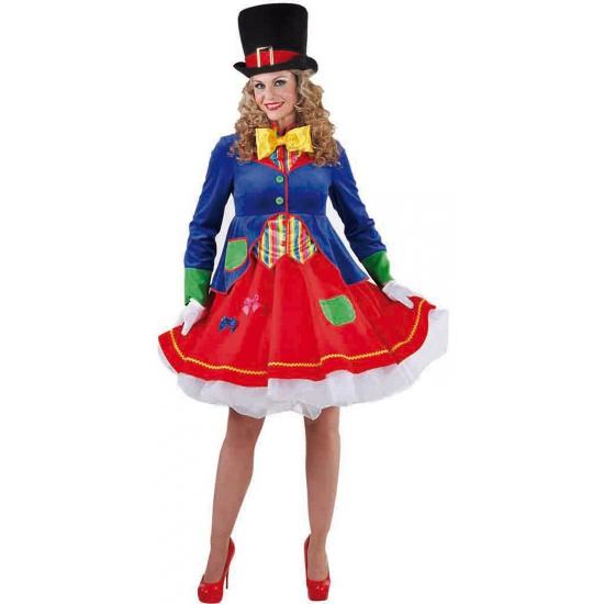 Clown verkleedkostuum voor dames 38 (M) Multi