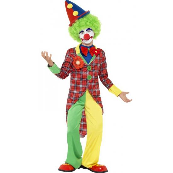 Clowns kostuum voor kinderen 115-128 (4-6 jaar) Multi