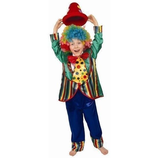 Clownspak Baba voor kinderen 104 Multi