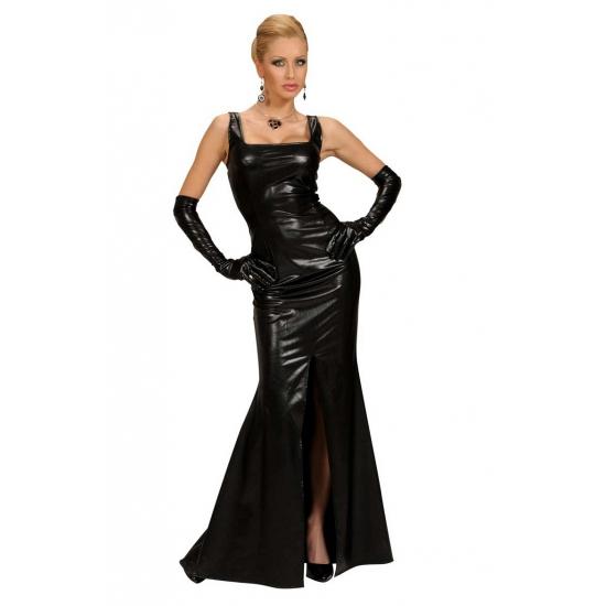 Cocktail jurk voor dames zwart L Zwart