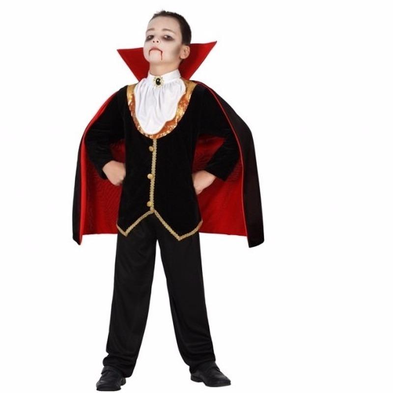 Compleet vampier kostuum voor jongens 3-4 jaar (98-104) Multi