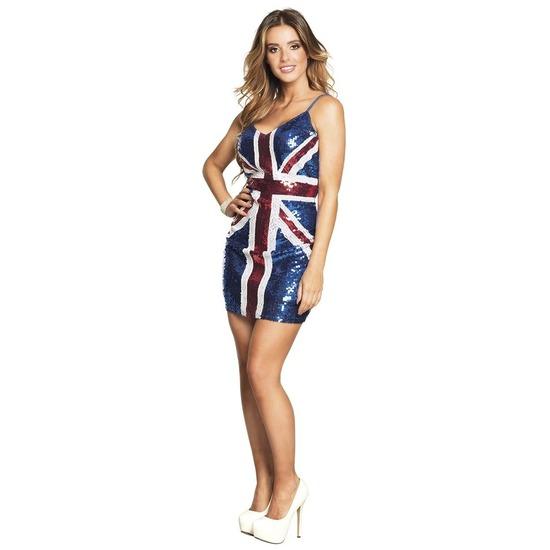 Dazzle jurk Londen print M Multi