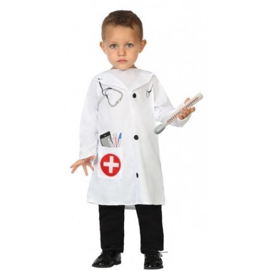 Dokter pakje voor baby en peuters 6-12 maanden (74-80) Wit