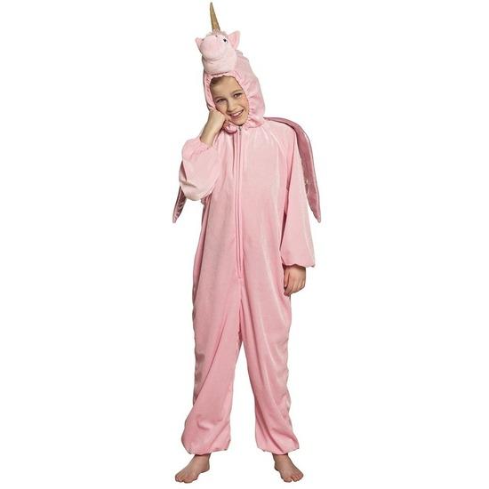 Eenhoorn onesie voor kinderen roze 116 Roze