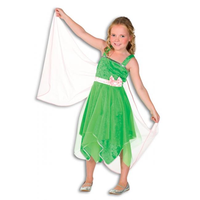 Elfjes kostuum voor meisjes 104 Groen