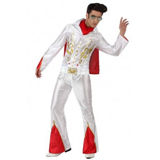 Elvis Presley pak heren 52 (L) Wit