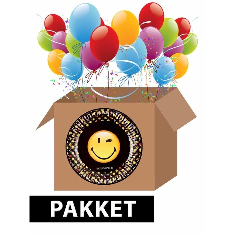 Emoticon themafeest pakket Multi