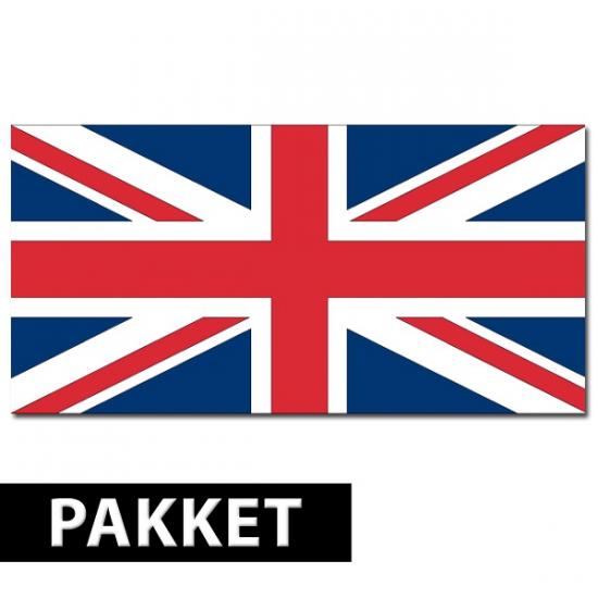 Engelse versiering/deco pakket