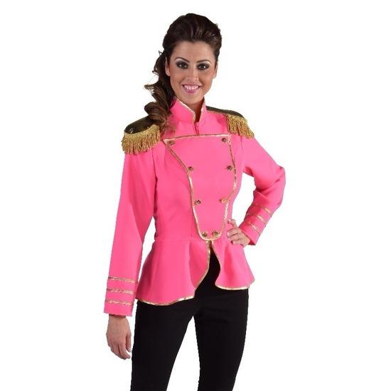 Fel roze kostuum jas voor dames 36 (S) Roze
