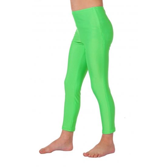 Felgroene kinder legging 116 Groen