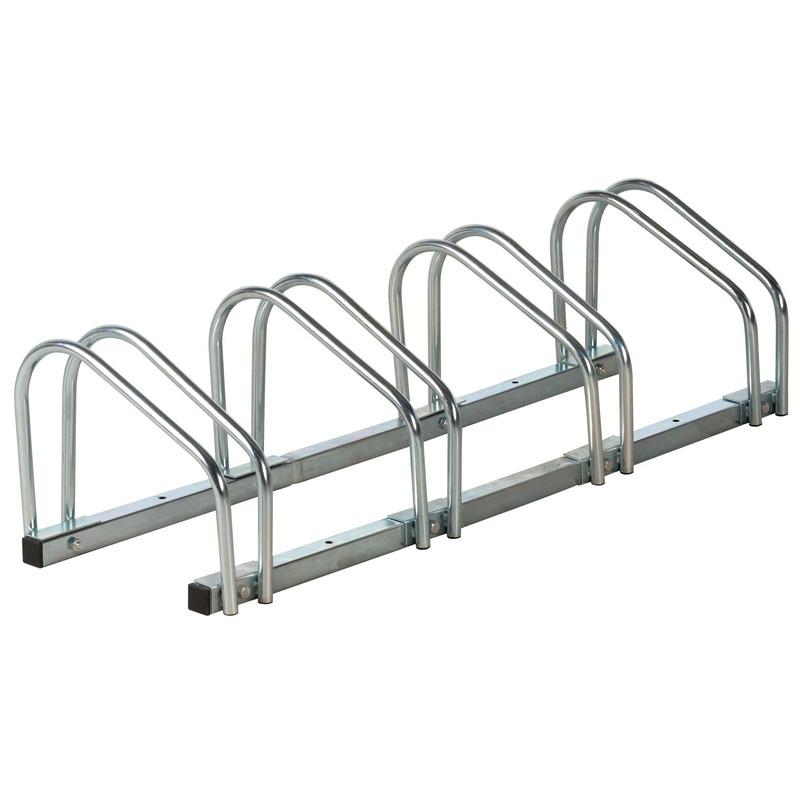 Fietsenstandaard voor 4 fietsen Grijs