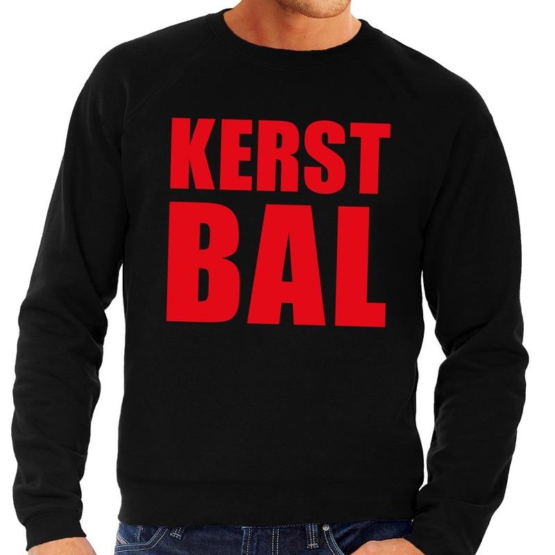 Foute kerstborrel trui zwart Kerstbal heren XL (54) Zwart