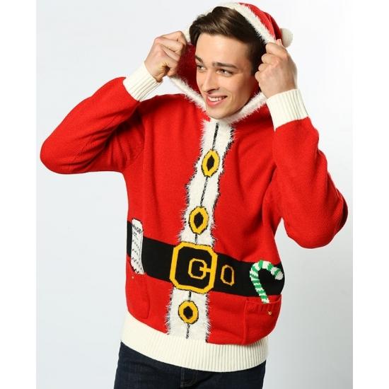 Foute kerstman kersttrui L -
