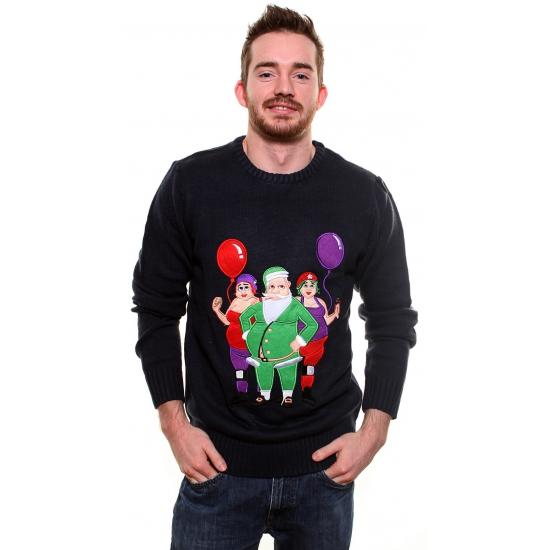 Foute kersttrui Cool Santa XL -