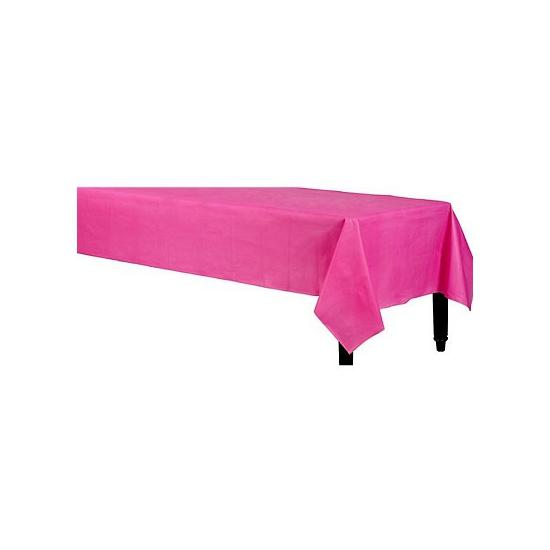 Fuchsia tafelkleden 140 x 240 cm Roze
