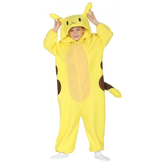 Geel anime kostuum voor kinderen 3-4 jaar (92-104) Geel