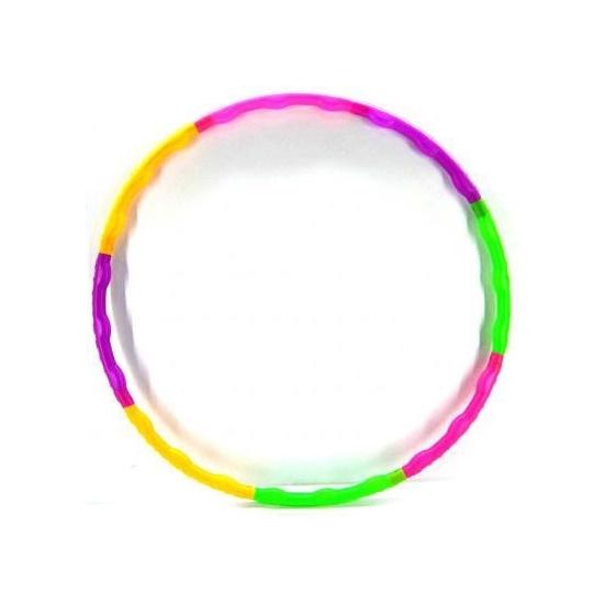 Gekleurde hoepel opvouwbaar 52 cm Multi