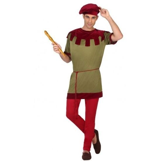 Goedkoop middeleeuws kostuum voor heren M/L Multi