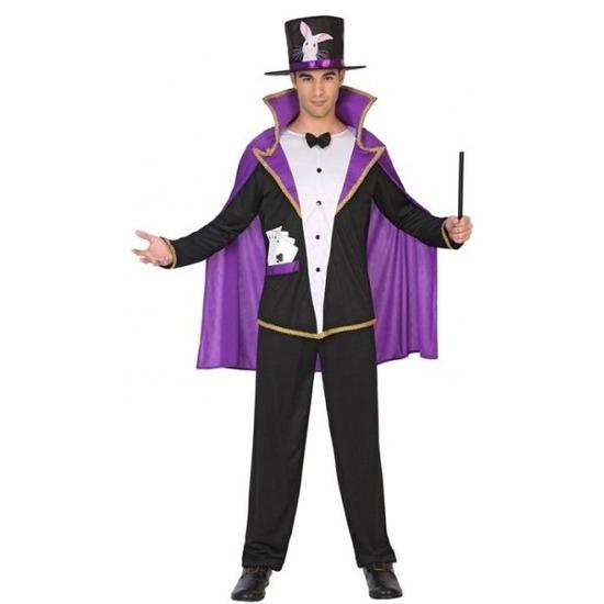 Goochelaar carnaval kostuum voor volwassenen XL Multi