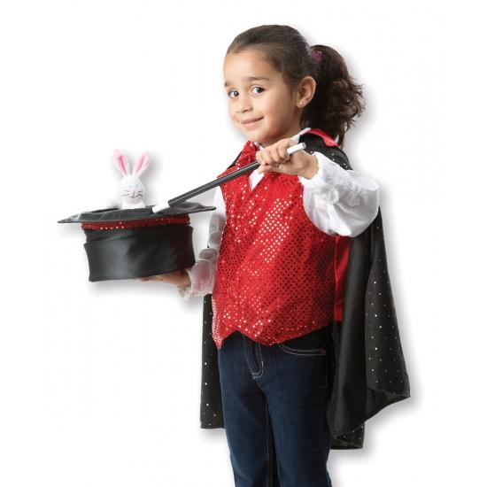 Goochelaar verkleedset voor kinderen One size Multi