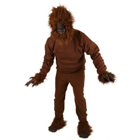 Gorilla kostuum volwassenen L Bruin