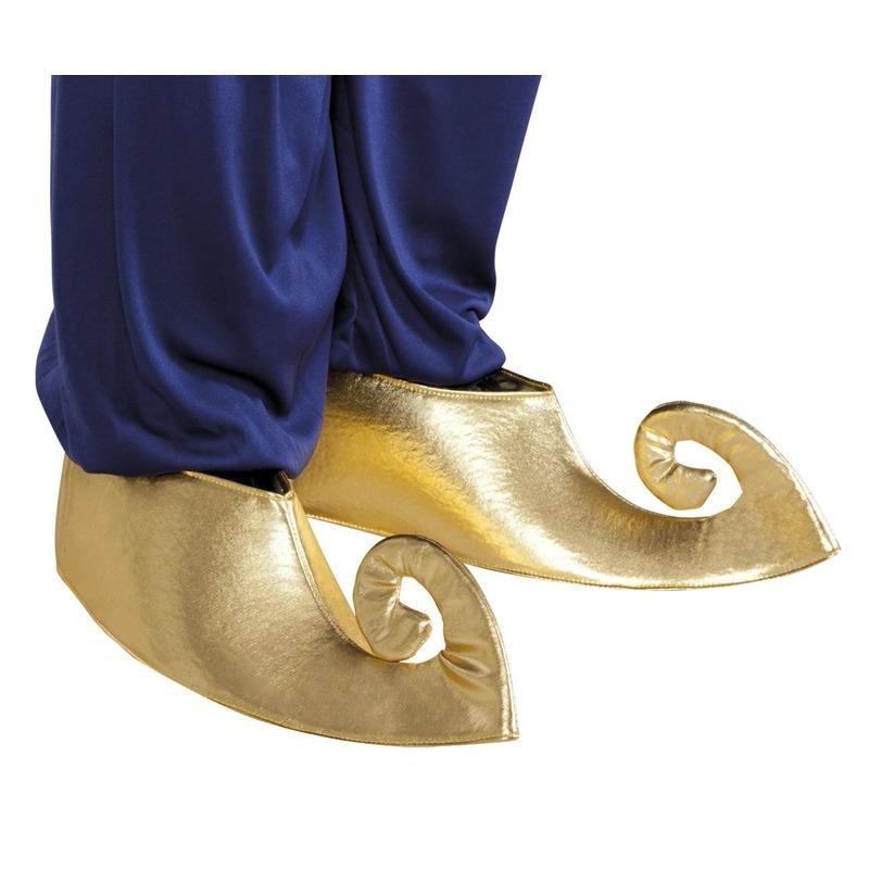 Gouden sultan schoenhoezen voor volwassenen