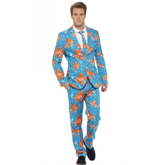 Goudvissen heren kostuums M Multi