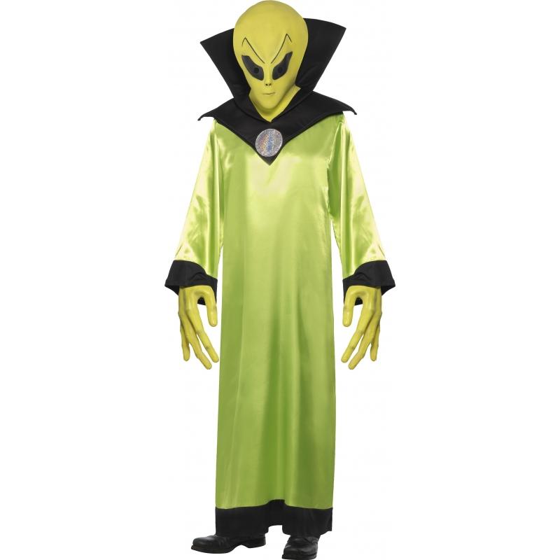 Groen alien pak volwassenen One size Groen